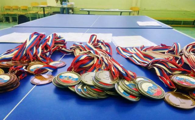 Медали теннисного турнира